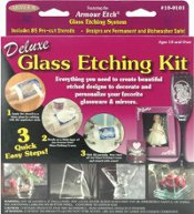 Deluxe etching kit by Armour Etch.