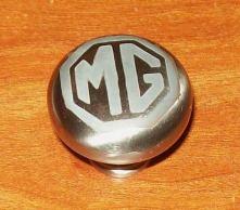 Metal knob sandblasted.