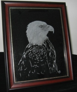 Eagle engraved by William K.