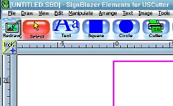 Signblazer Elements software