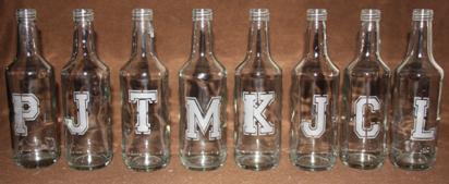 bottles-etched