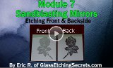Link to sandblasting mirrors.