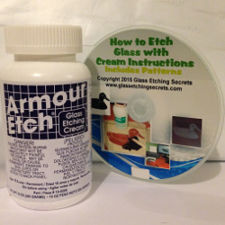 Buy 10 oz Armour Etch Glass Etching Cream