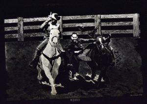 1973 Rodeo engraving