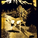 James Bruce's 1981 Pronghorn engraving