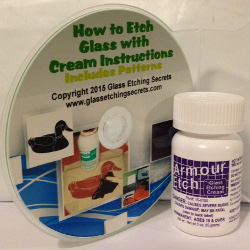 Buy 3 oz Armour Etch Glass Etching Cream