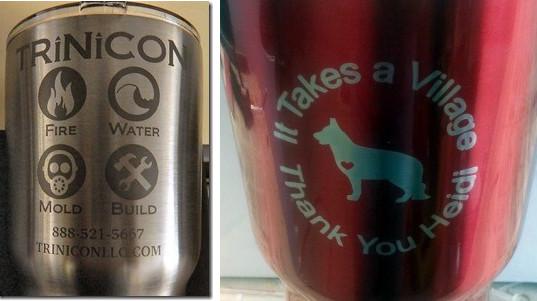 Anonized mugs customized