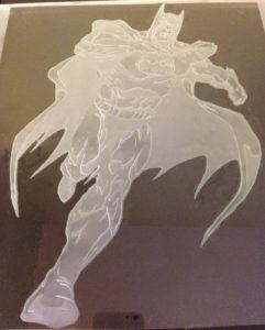 batman etched