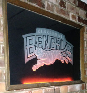 bengals led sandcarving