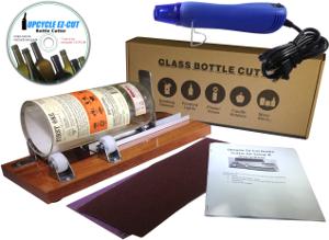 Deluxe bottle cutter kit