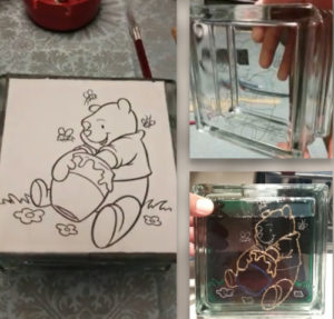 Learn how to etch glass block.