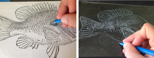medium tip engraving