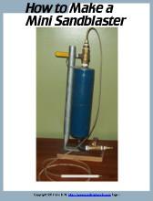 mini sandblaster plans