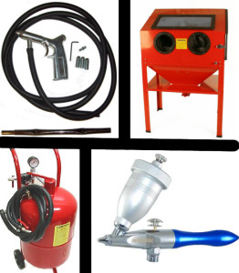 recommended sandblas equipment