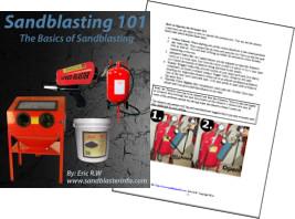 Sandblasting basics book.