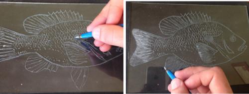 shading engraving tip