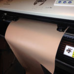 vinyl cutter with 2 rollers