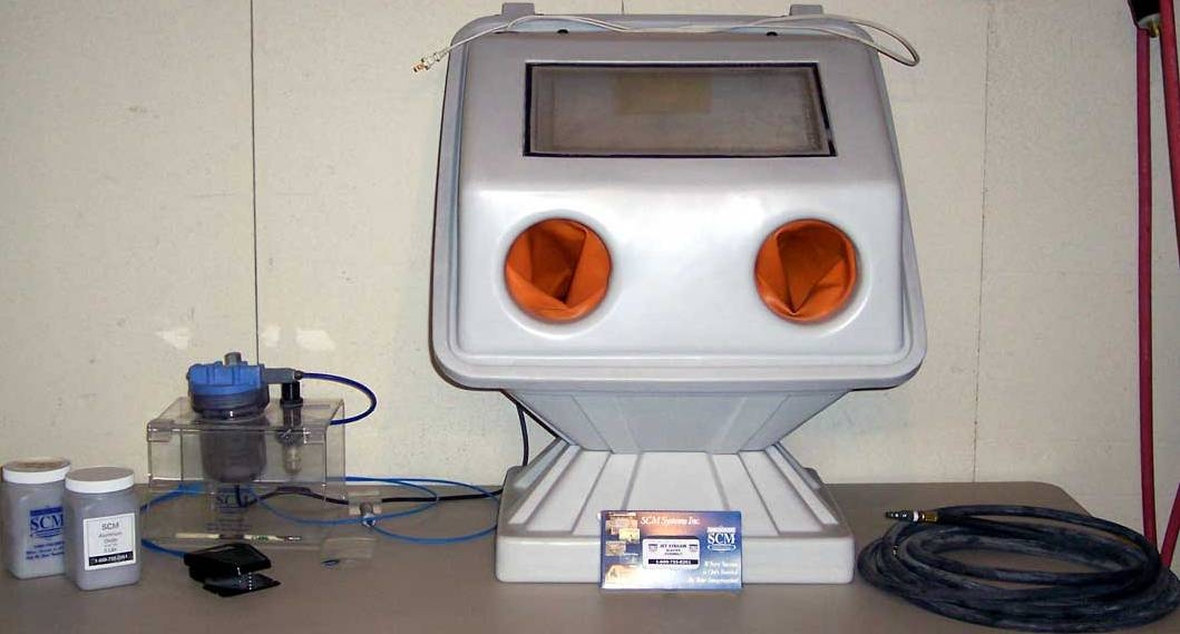 SOLD: SCM Jet Stream One Etching System