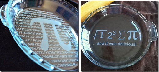 Personalization Gifts with Sandblasting & Laser: Pie Plates