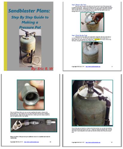 Pressure Pot Sandblaster Plans